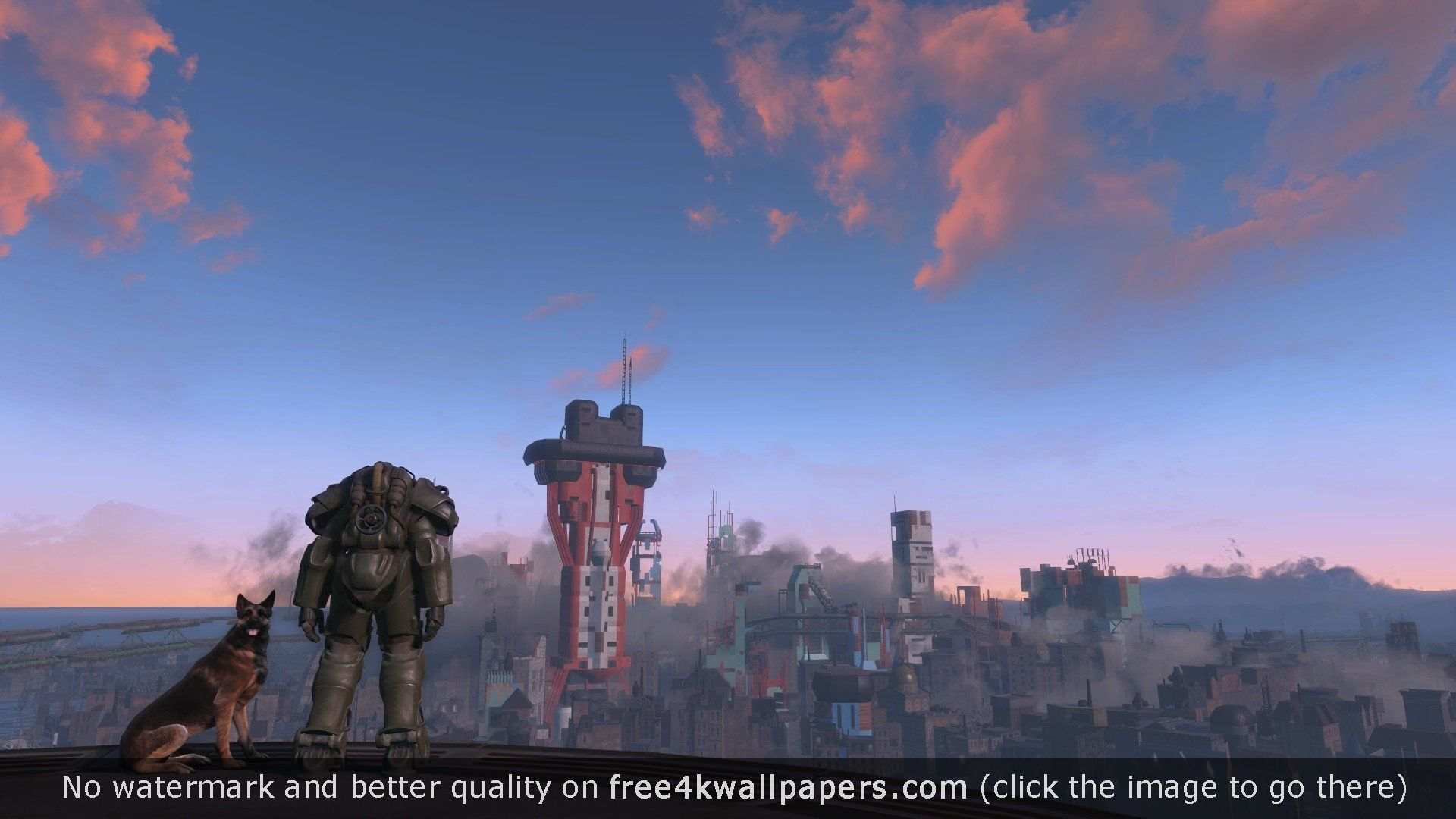 Fallout 4 4K or HD wallpaper for your PC Mac or Mobile device 1920x1080