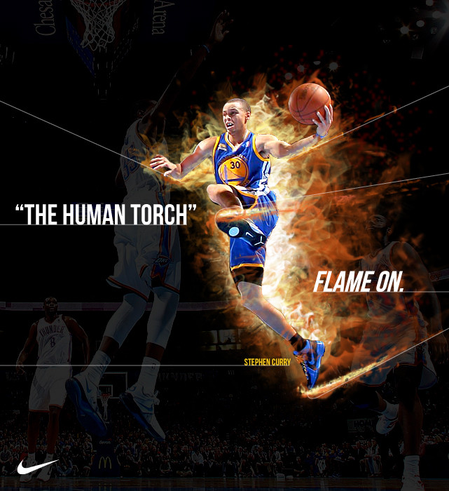 Go Back Gallery For Stephen Curry Human Torch 641x700