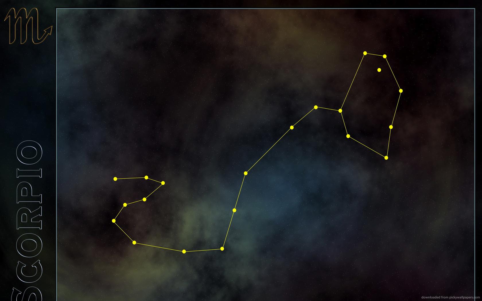 Download 1680x1050 Scorpio Constellation Wallpaper 1680x1050