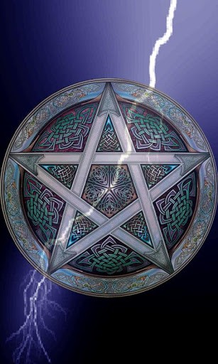 View bigger   Wiccan Lightning Live Wallpape for Android screenshot 307x512