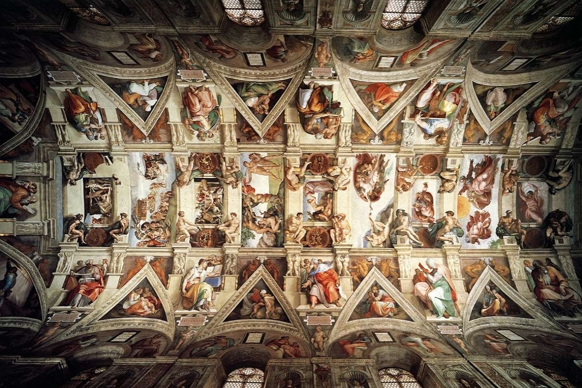 Sistine Chapel Ceiling HD Wallpaper Background Images 1200x800