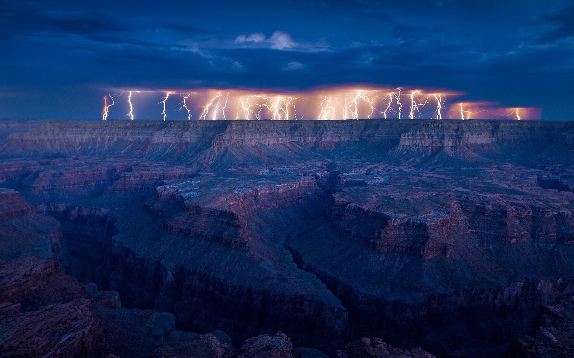 Thunderstorm Wallpaper 2560x1600px #905088