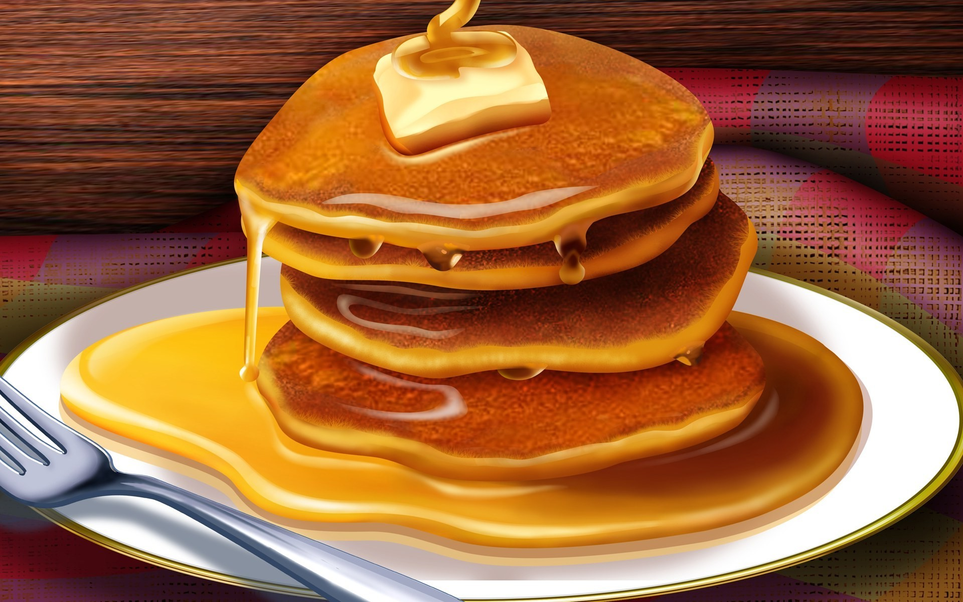 Pancakes HD Wallpapers 1920x1200