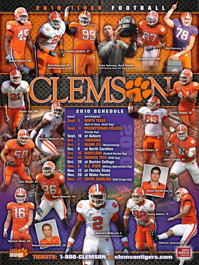 Clemson Football 674x898