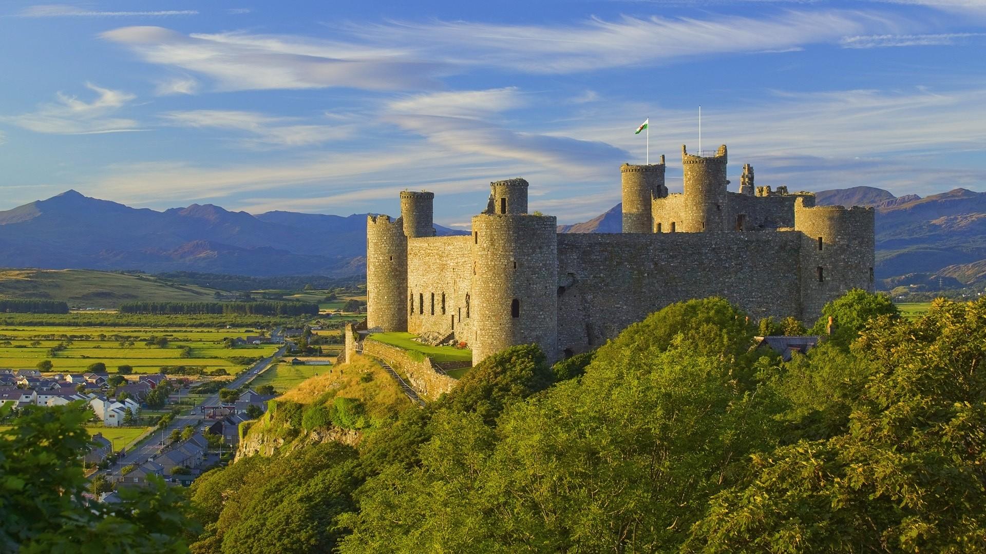 Landscapes Castles Wallpaper 1920x1080 Landscapes Castles 1920x1080