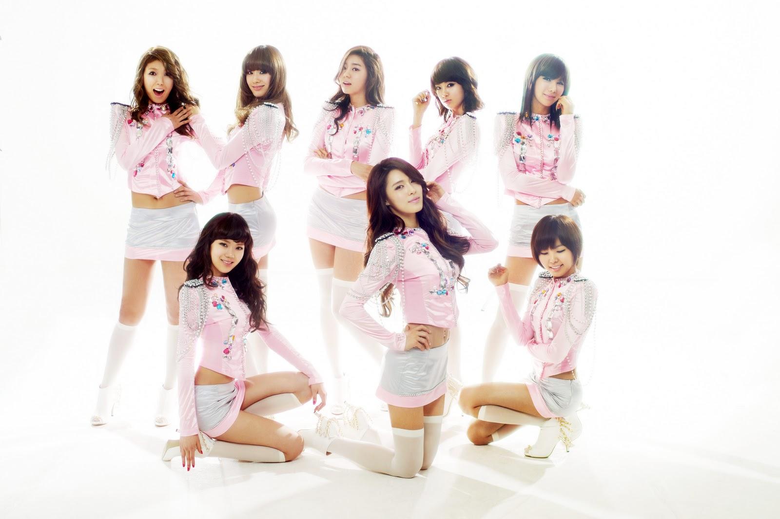 After School Pink Korean Artist Wallpapers 1600x1065
