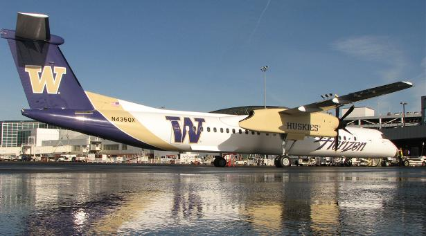 Horizon Air   University of Washington Huskies 615x341