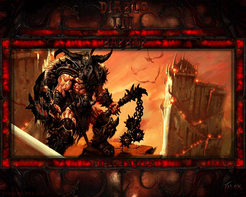 Diablo 3 Wallpaper Barbarian 4085 Hd Wallpapers in Games   Imagesci 1024x819