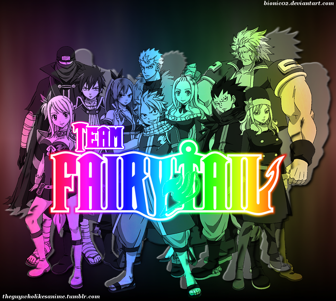 Fairy Tail Wallpaper by bionic02 1124x1009