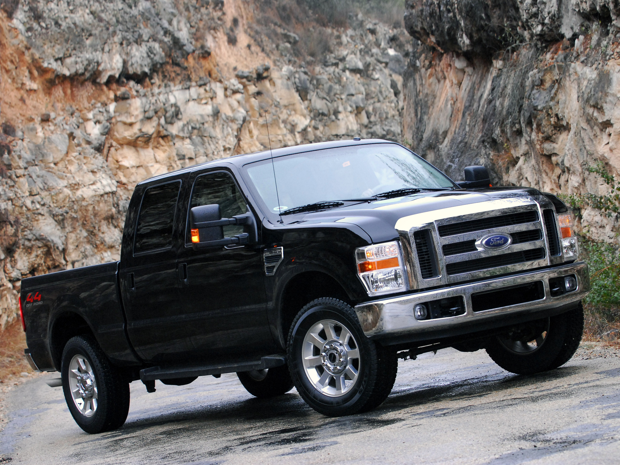 2008 Ford F 250 SuperDuty truck 4x4 g wallpaper background 2048x1536