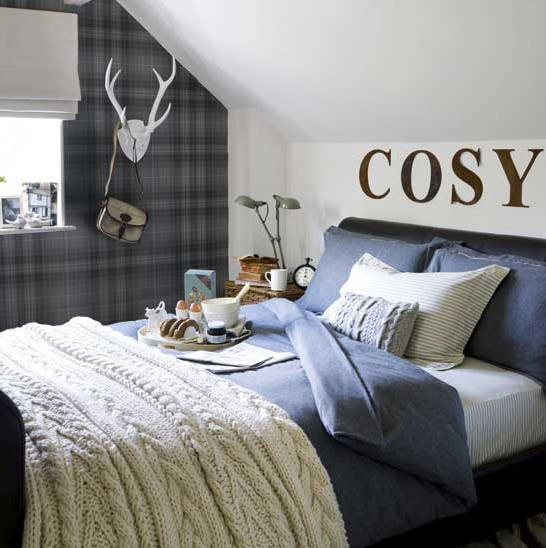 there are numerous ways to give a nod to menswear in your decor 546x548