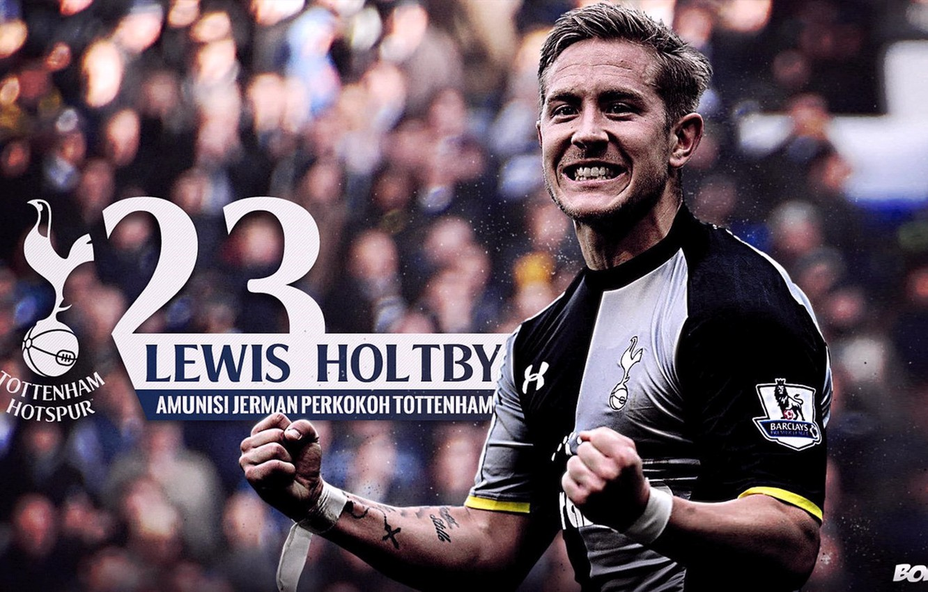 Wallpaper Tottenham SpursFootball Lewis Holtby images for 1332x850
