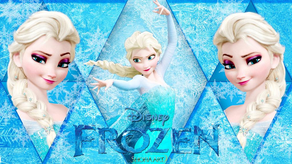 Elsa frozen wallpaper 2 by Shofia kim13 1024x576