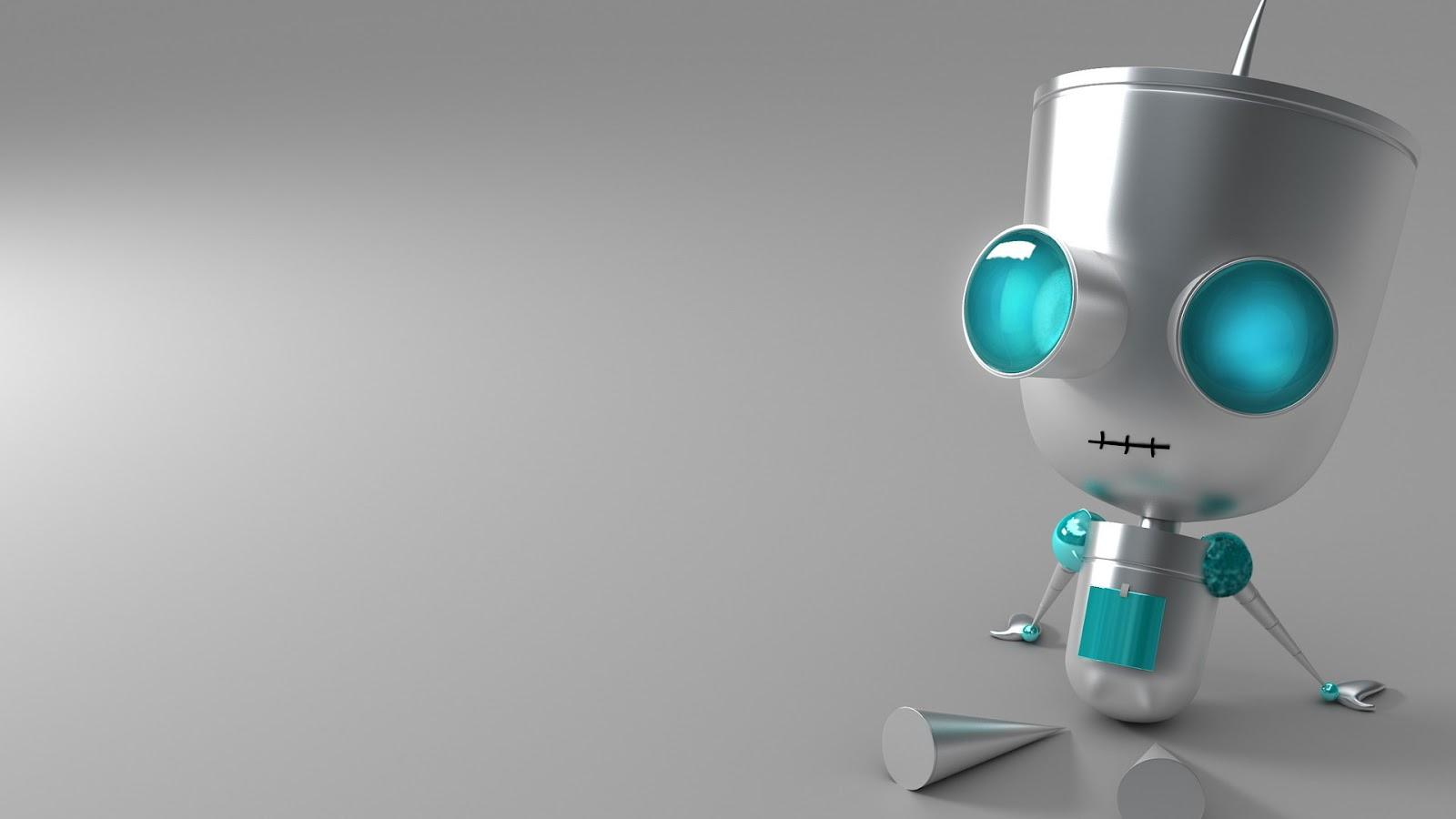 Cute Robot Wallpaper Top HD Wallpapers 1600x900