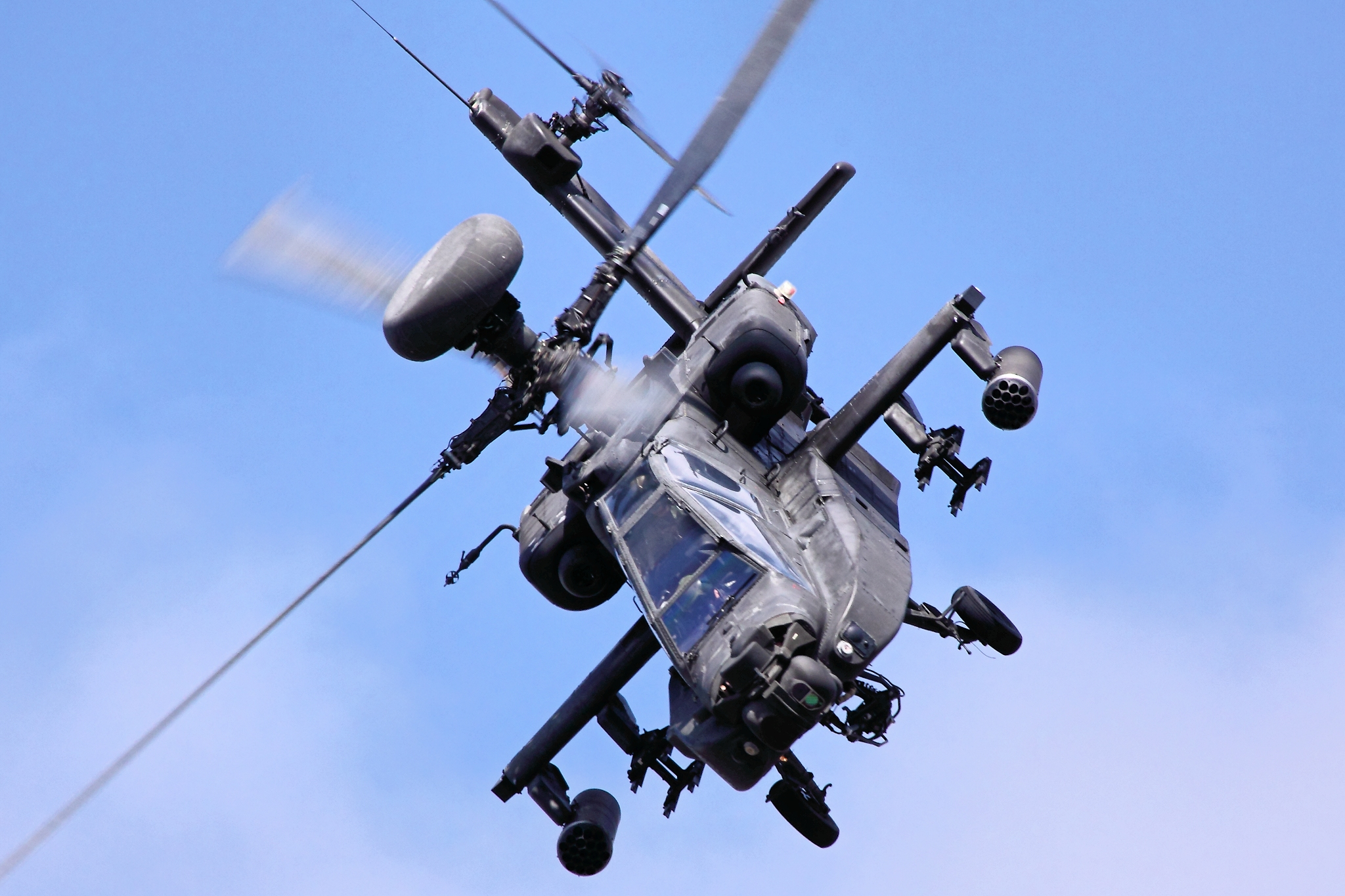 Apache Helicopter HD Picture Wallpapers 2048x1365