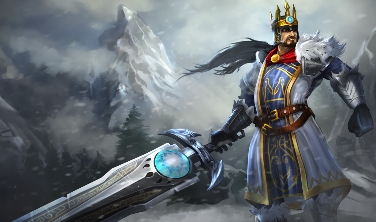 League of Legends Wallpaper Tryndamere   The Barbarian King 1215x717