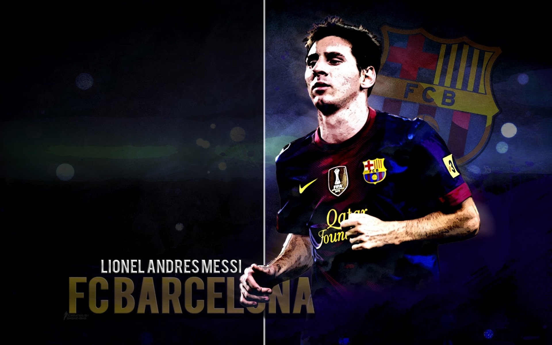 Lionel Messi Wallpapers HD download 1920x1200