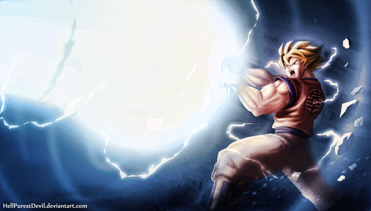 Kid Goku Kamehameha Wallpaper Kamehameha 1185x674