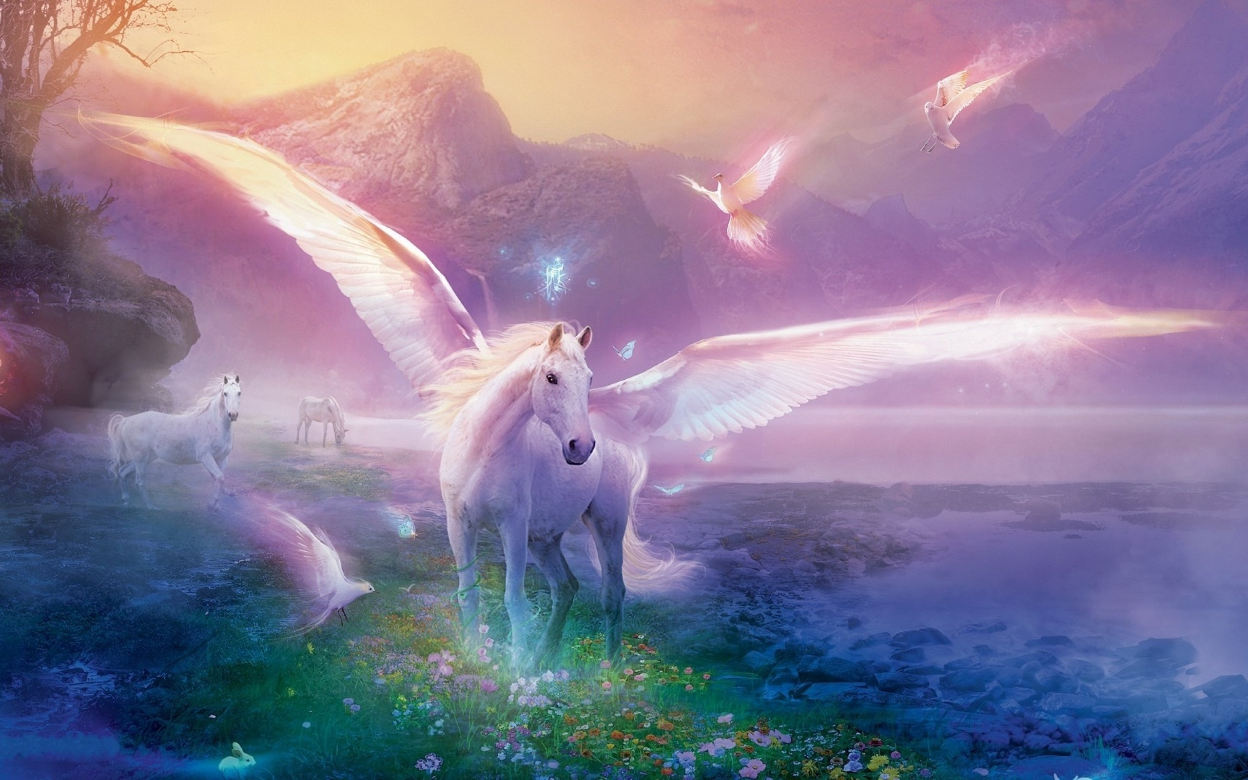 42 Free Unicorn Wallpapers For Laptops On Wallpapersafari
