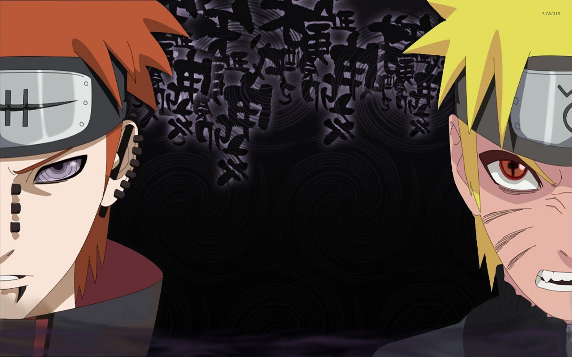 Naruto Uzumaki and Pain wallpaper   Anime wallpapers   13703 1920x1200
