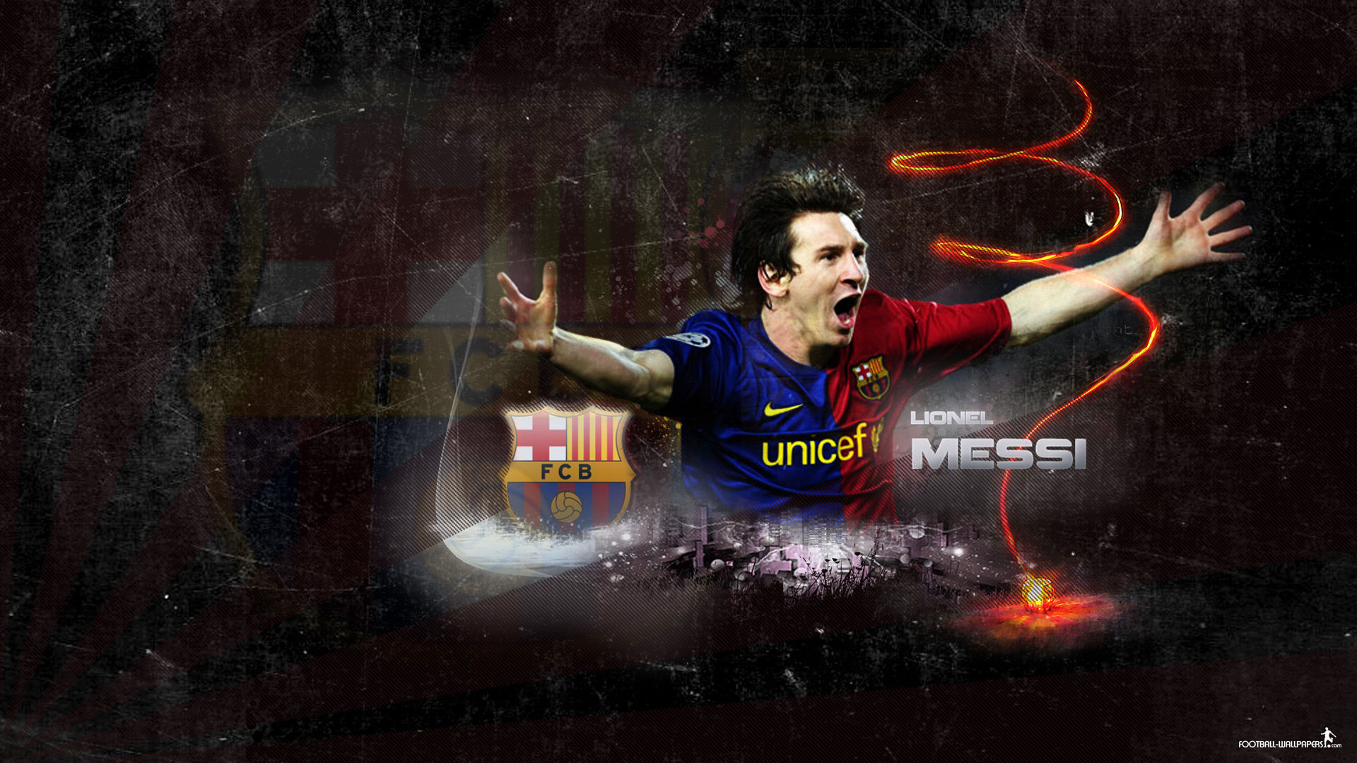 Lionel Messi Barcelona 1920x1080 Wallpapers Players 1920x1080