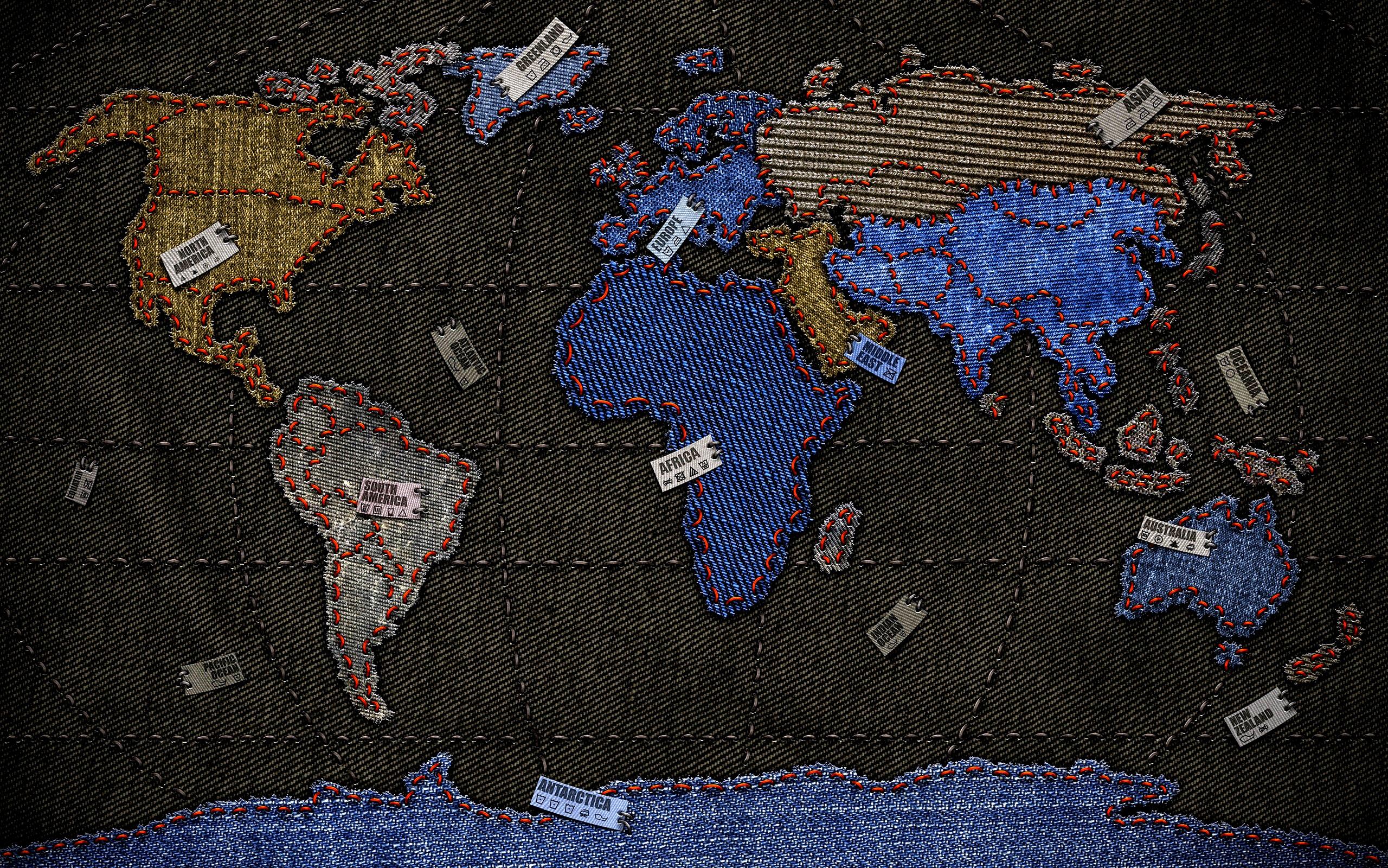 jeans worldmap wallpaper Pc Help Tips Advice 2560x1600