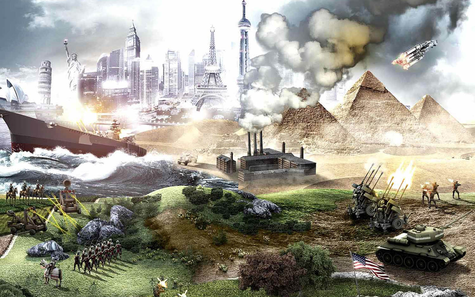 wallpapers Civilization 5 1600x1000