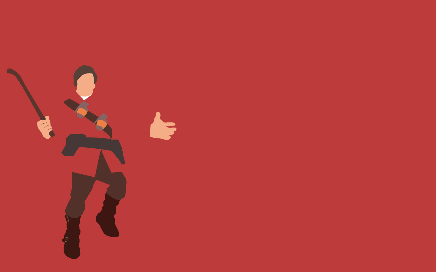 download TF2 Red Soldier Minimalist Wallpaper by bohitargep 1440x900