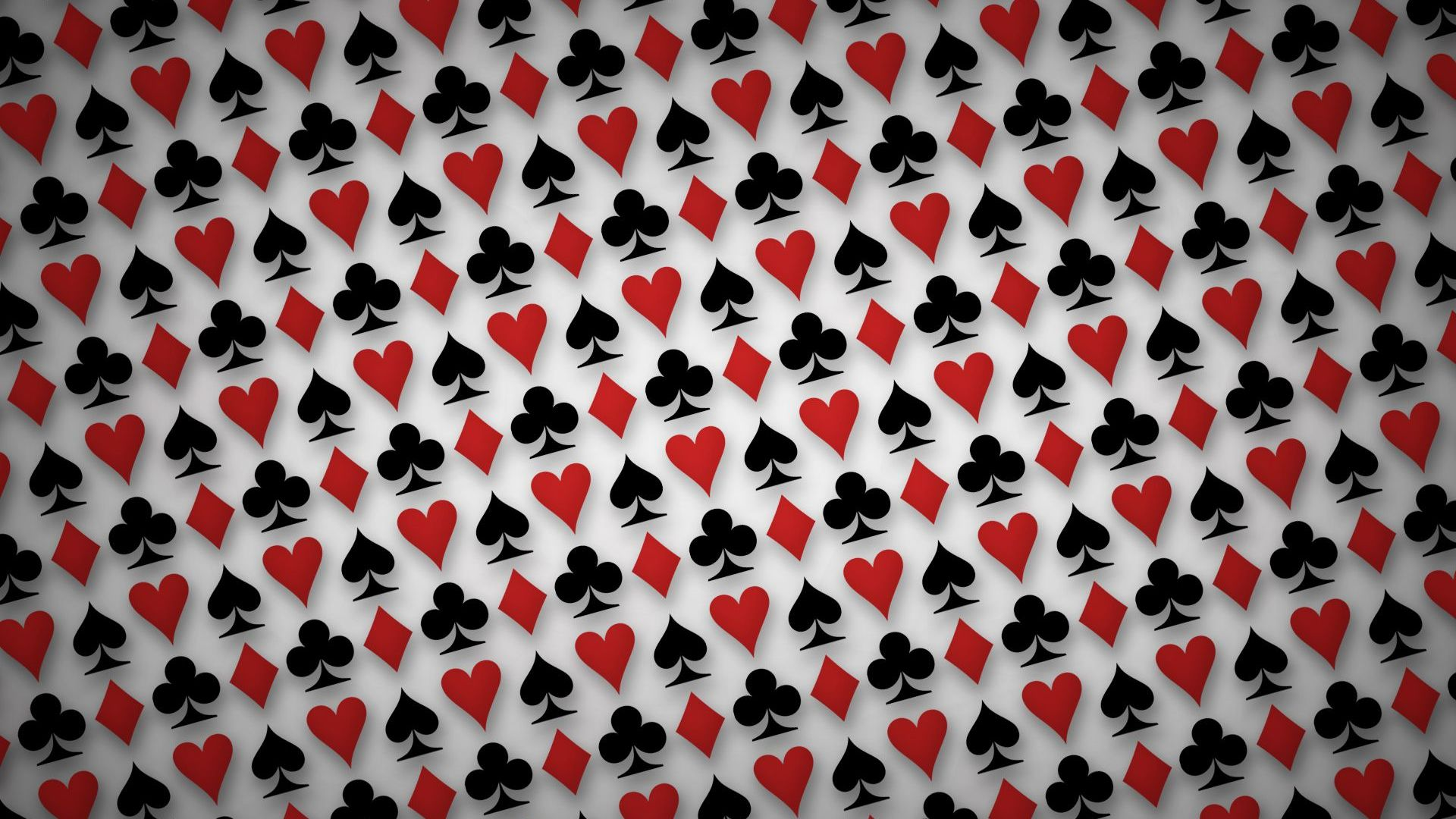 Playing cards symbols Wallpaper 10306 1920x1080