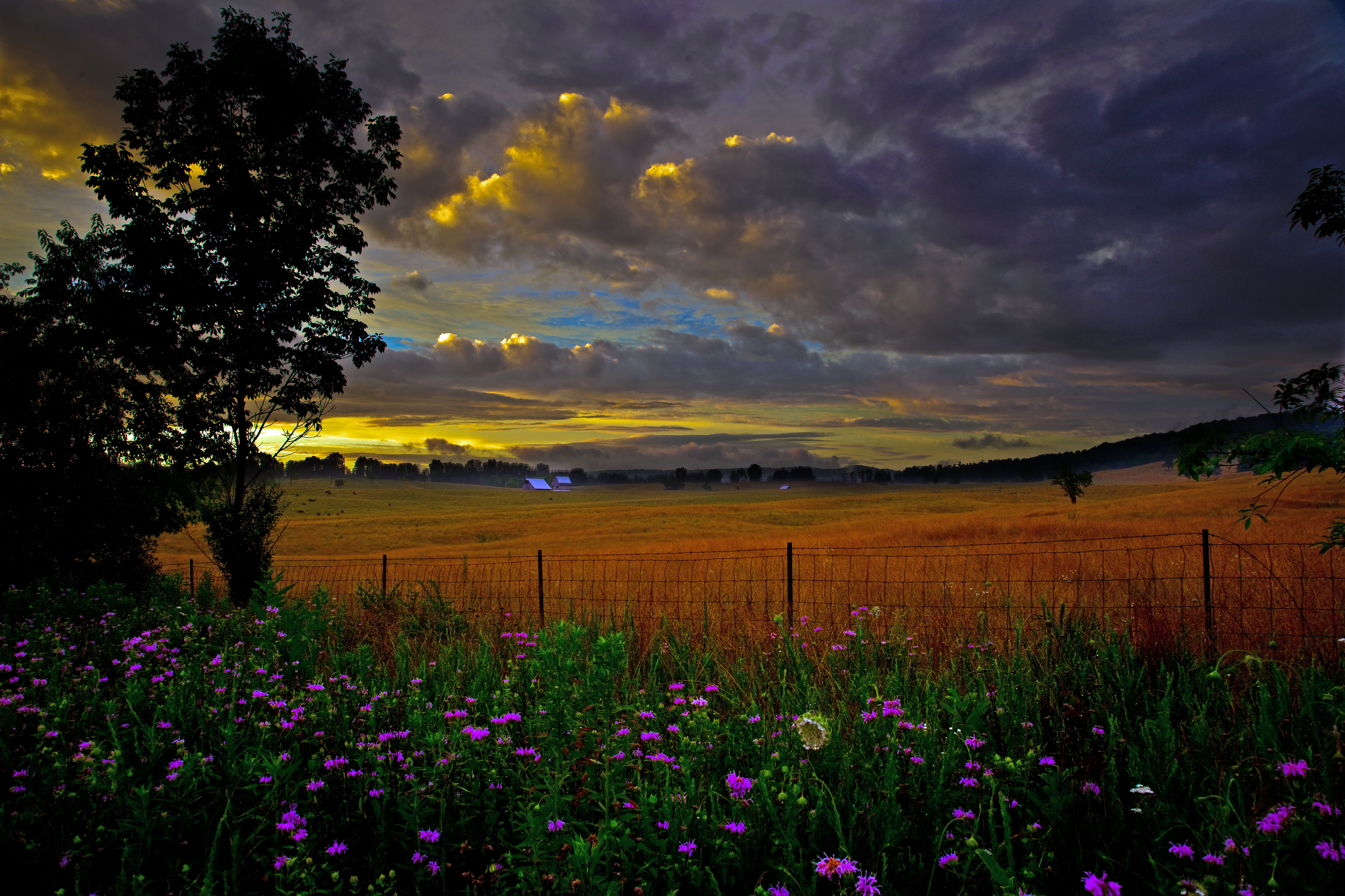 Scenic Country Farm Structures Nature Pictures by ForestWander 5616x3744