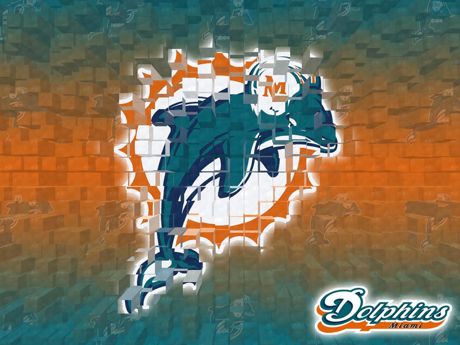 Miami Dolphins Logo HD dekstop wallpapers   Miami Dolphins Logo 1600x1200