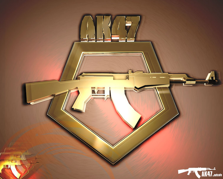 gold AK47 wallpaper   ForWallpapercom 757x606