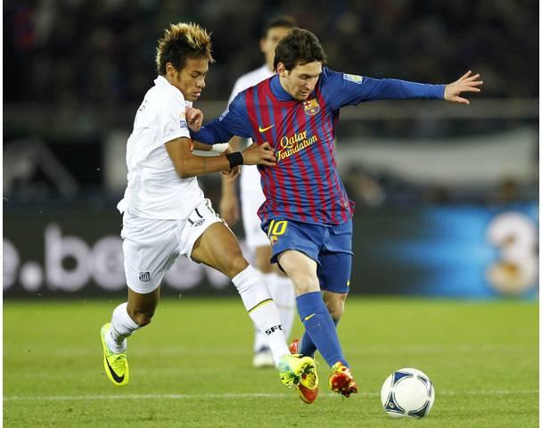Messi Vs Ronaldo Vs Neymar Vs Ronaldinho Wallpaper Lionel messi vs 608x480