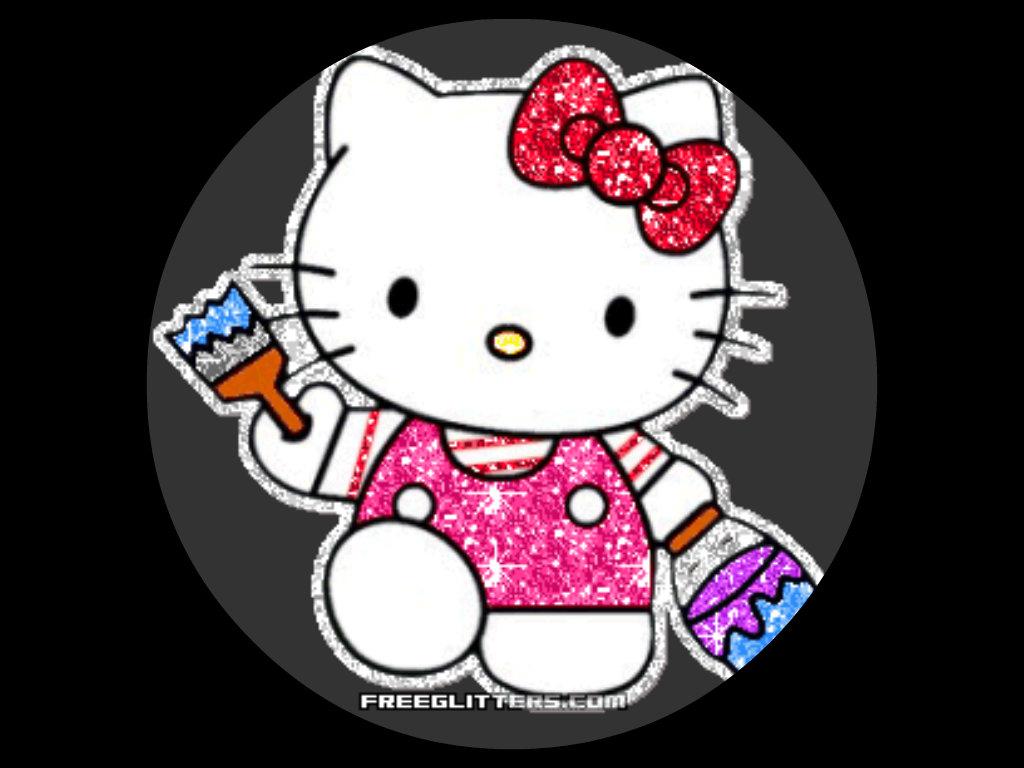 sparkly kitty hello kitty 33934200 1024 768 Hello Kitty Fan Art 1024x768