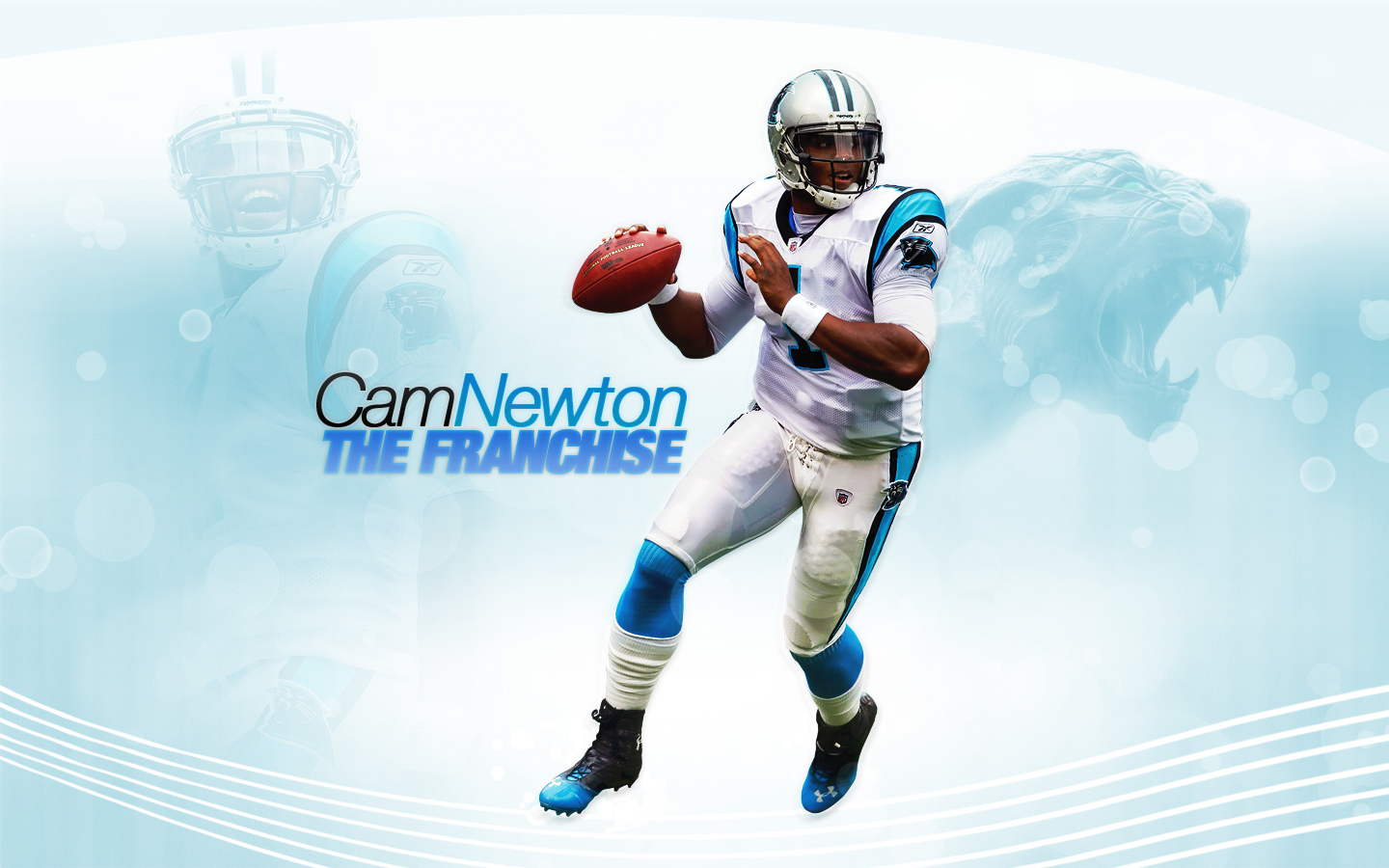 Cam Newton Panthers Wallpaper Cam newton   the franchise 1440x900