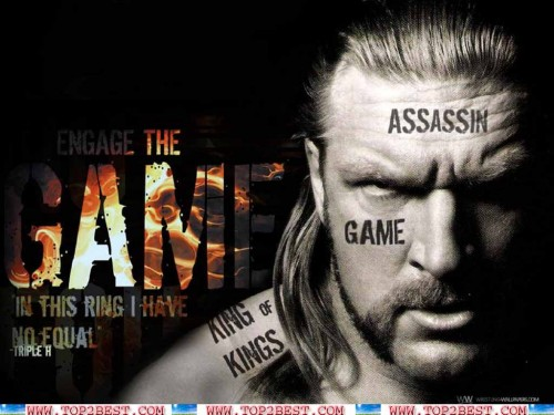 triple h is one of the most popular wrestlers of wwe hhh is 500x375