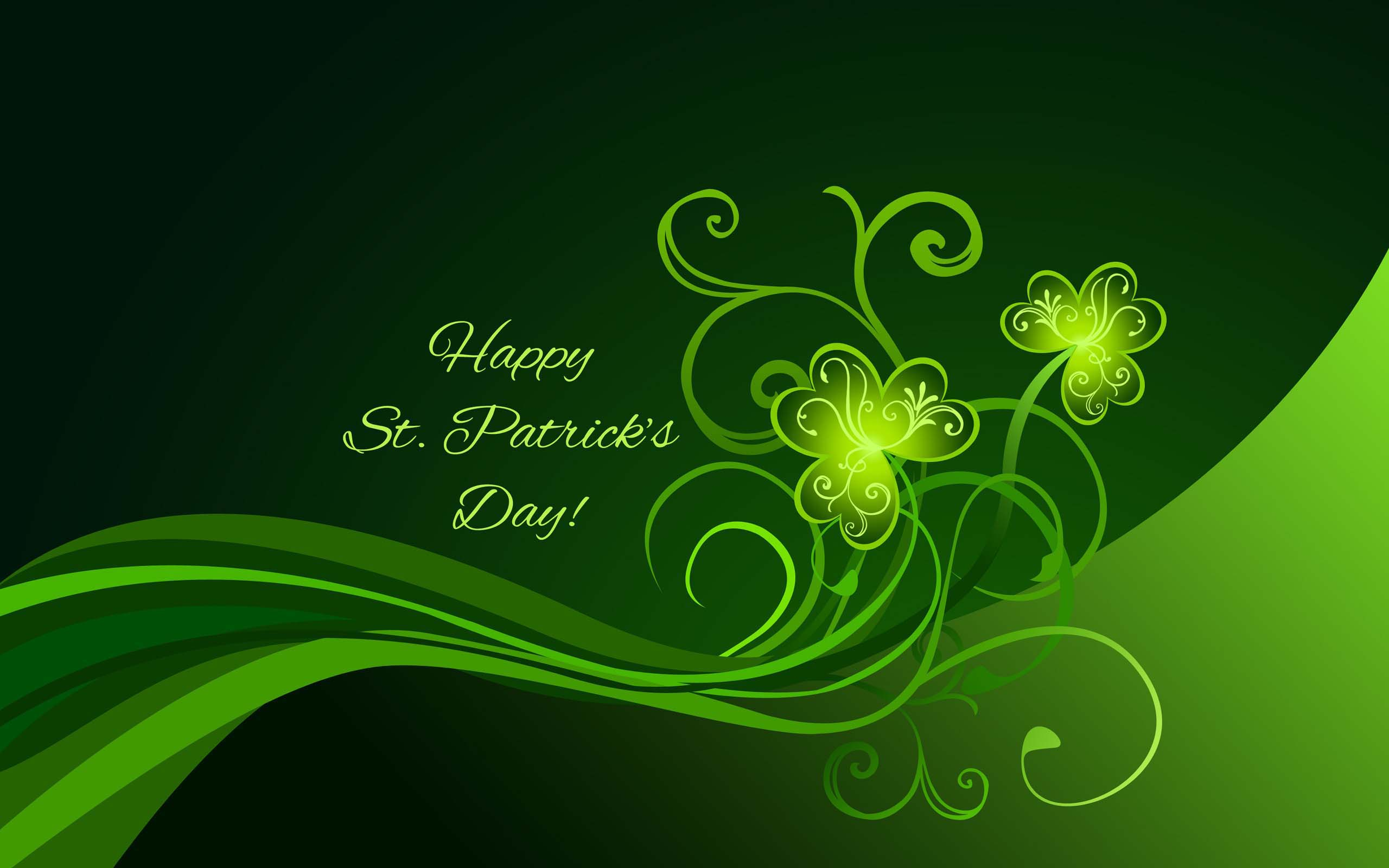 St Patricks Day HD Wallpaper Wide Screen Wallpaper 2560x1600