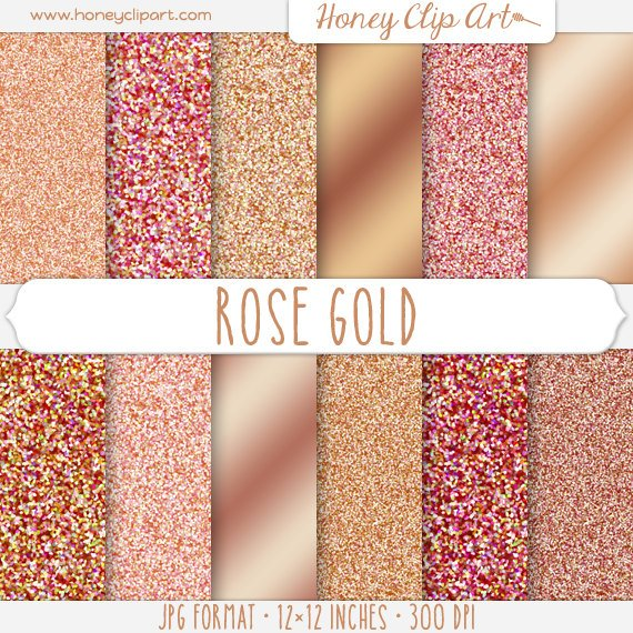 Sparkle Backgrounds   Metallic Gold Shimmer Paper   Rose Gold Foil 570x570