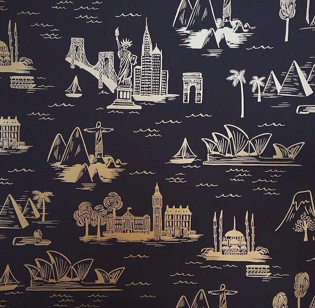Wallpaper by Rifle Paper Co Home Pinterest 640x625