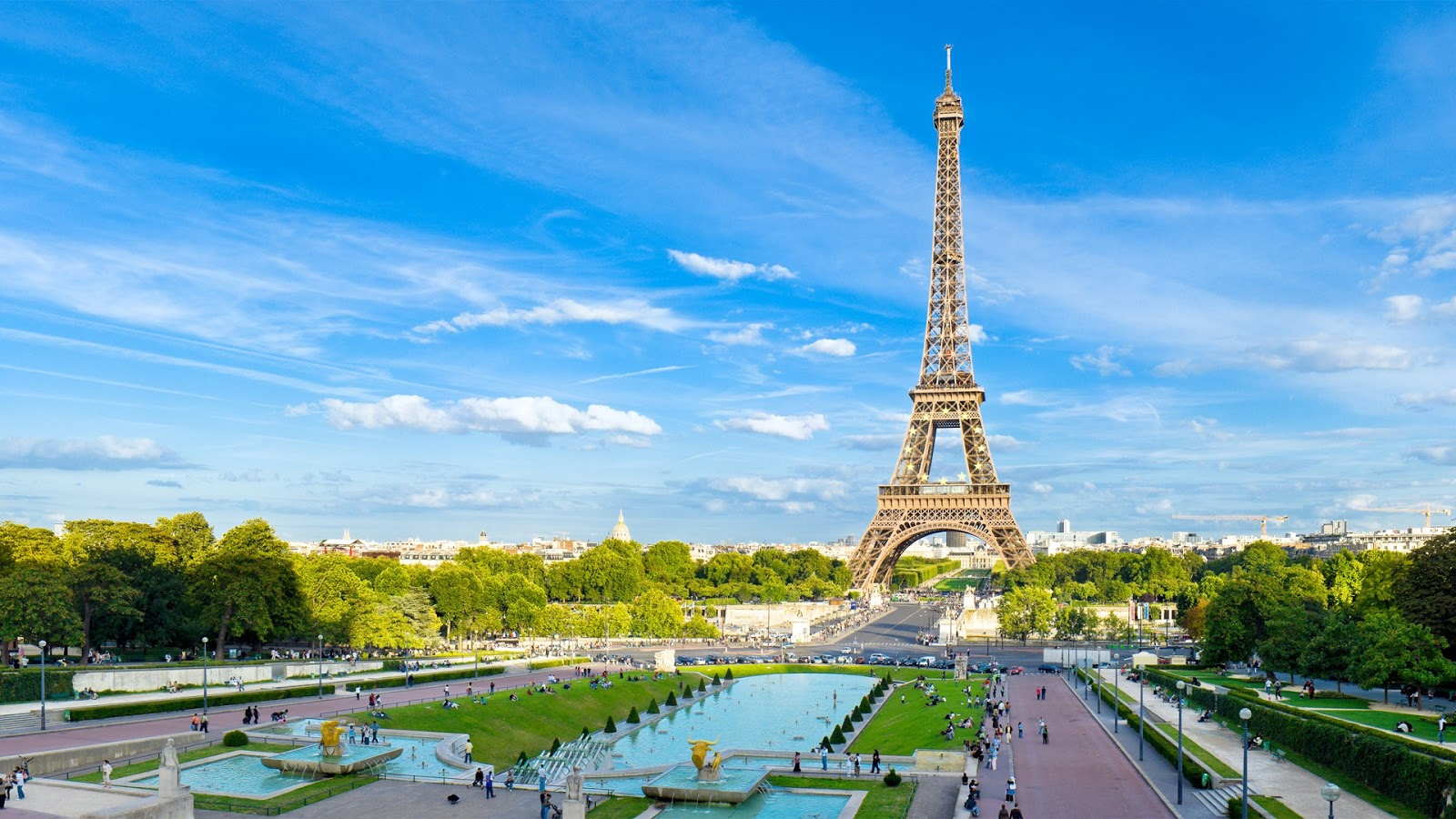 Paris France Wallpaper download wallpaper 1600x900