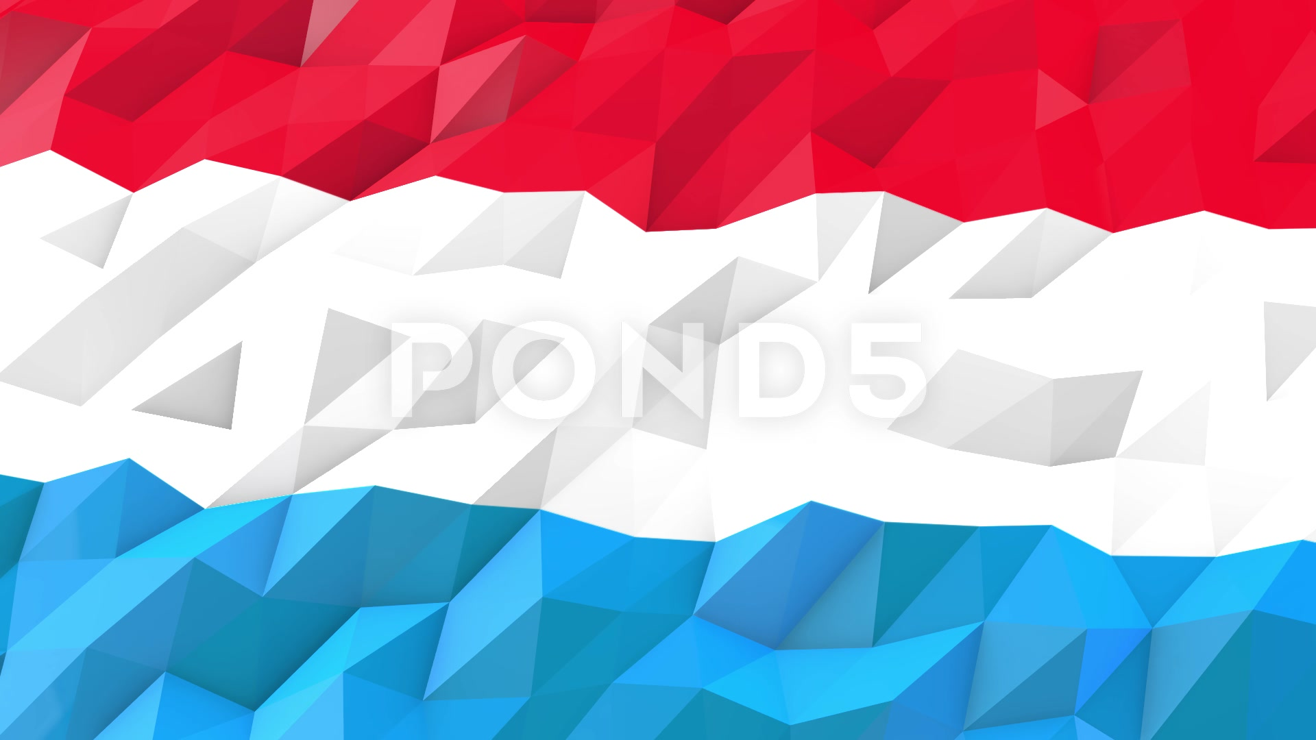 Flag of Luxembourg 3D Wallpaper Illustration Video 66398605 1920x1080