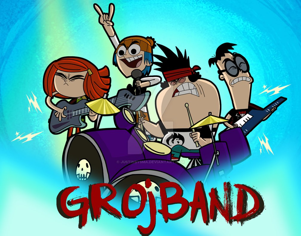 Grojband Wallpapers Related Keywords Suggestions   Grojband 1008x792