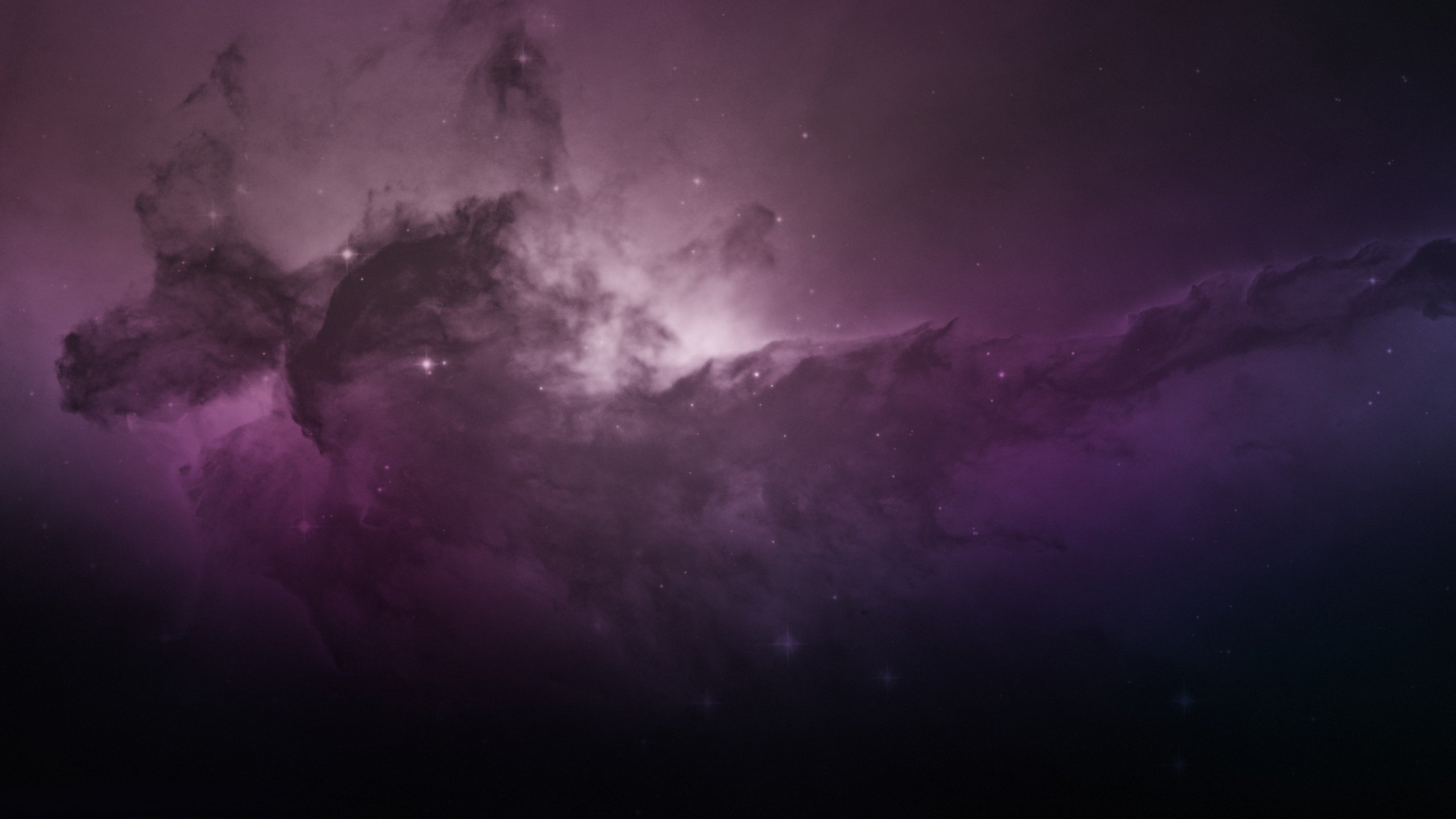 wallpaper nebula eagle computer space media 2560x1440 2560x1440