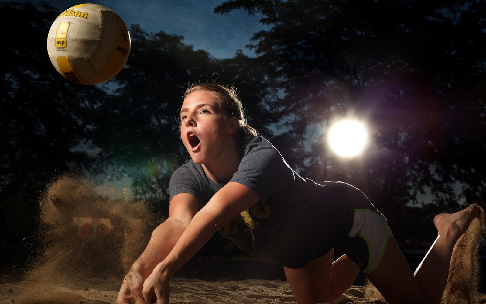 Beautiful Beach Volleyballer Girl 2013 Hd Desktop Wallpaper MRSPORT 1600x1000