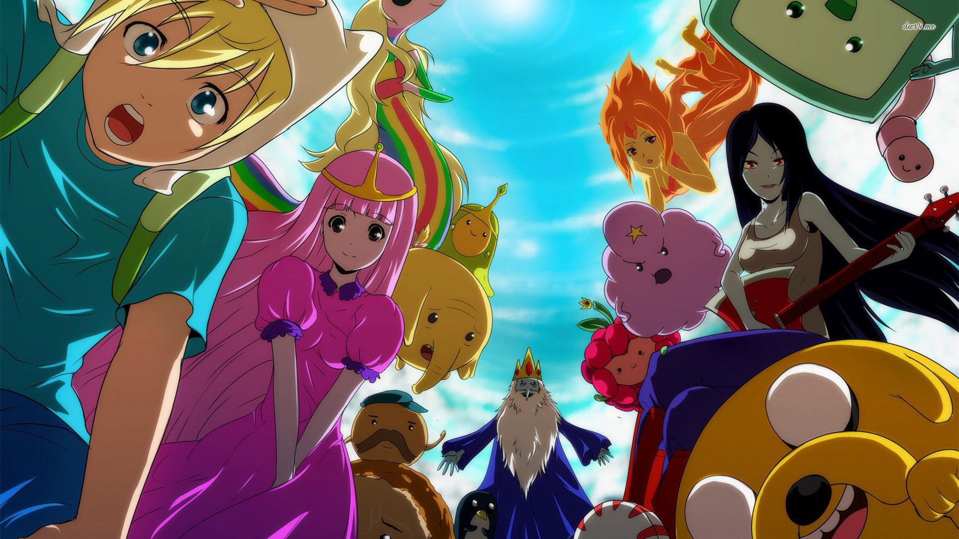 77+ Adventure Time Backgrounds on WallpaperSafari