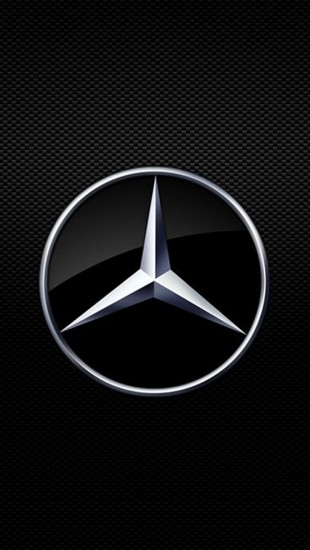 Mercedes Benz Logo   The iPhone Wallpapers 310x550