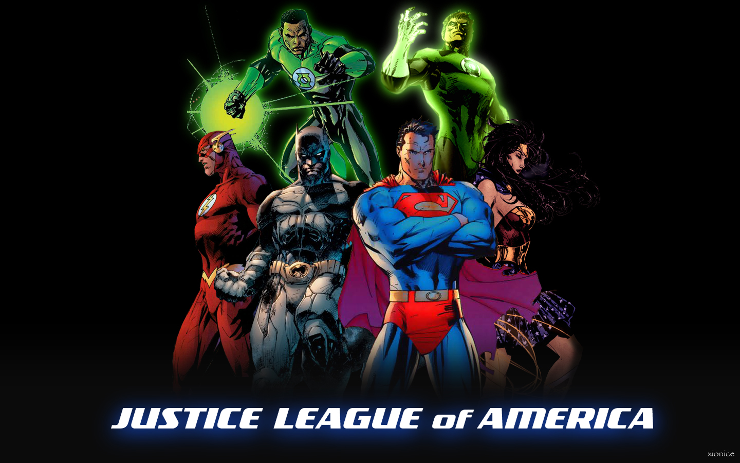 Justice League II by Xionice 1440x900