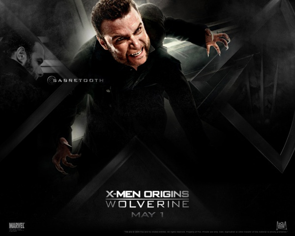 Men Origins Wolverine Wallpaper 16989 600x480