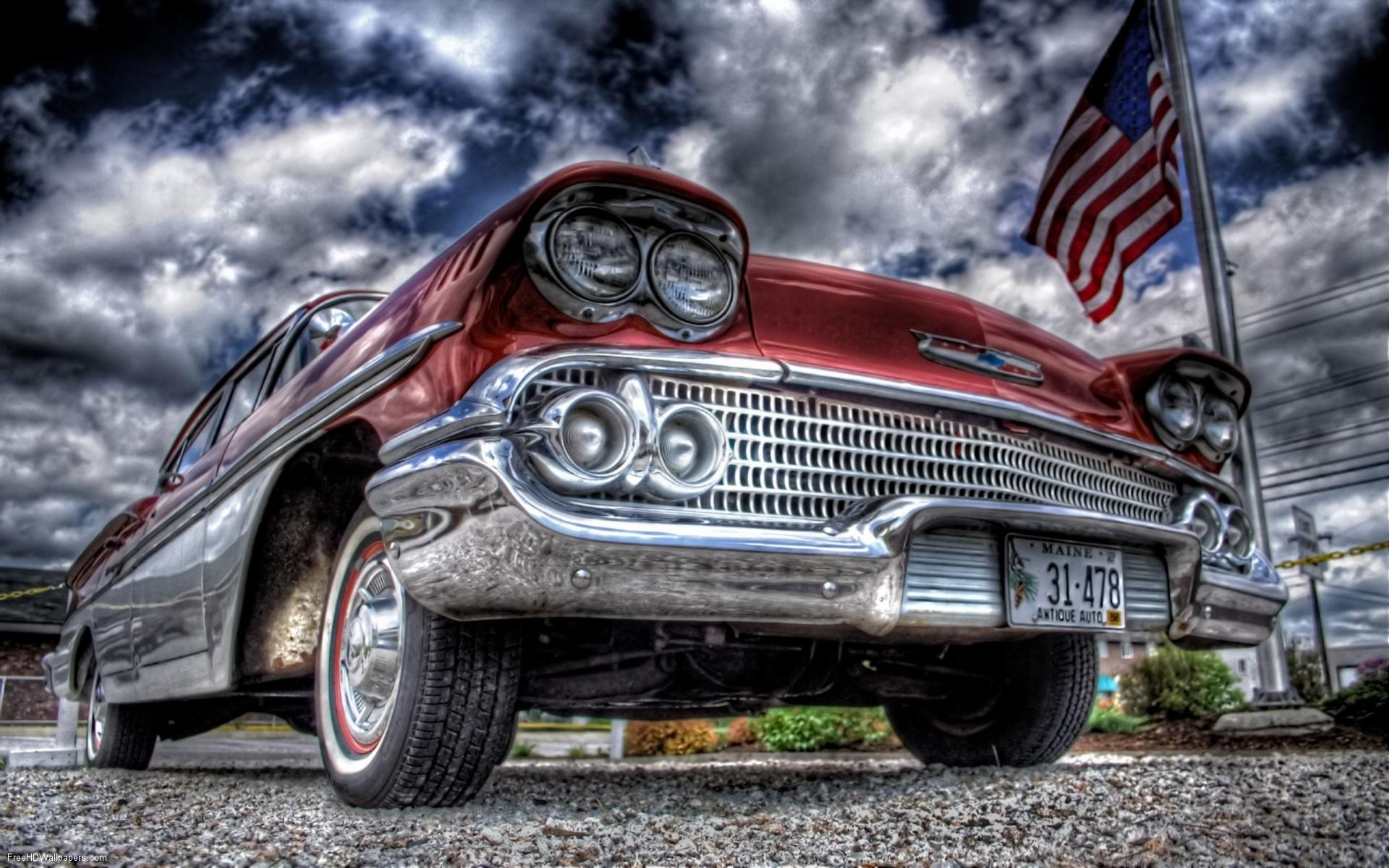 Hdr old car 19201200 wallpapers download desktop wallpapers hd and 1920x1200