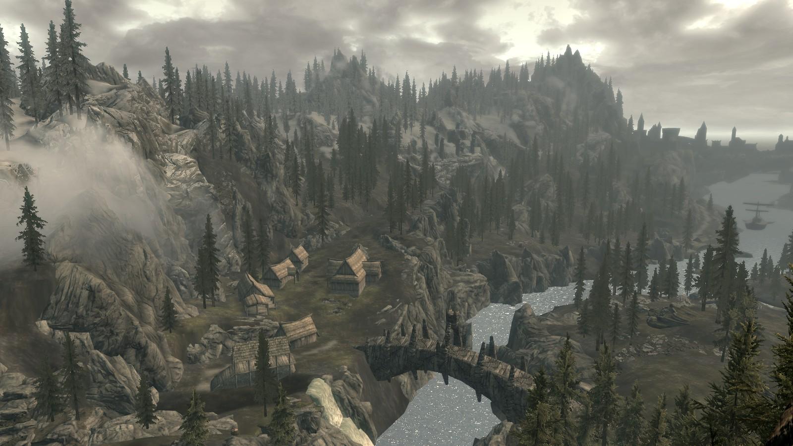 Dragon Bridge Overlook Wallpaper and Background Image 1600x900 1600x900